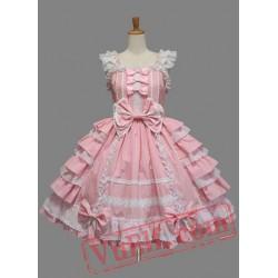 Pink Sweet Sleeveless Lolita Dress