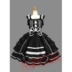 Sleeveless Black Lolita Dress