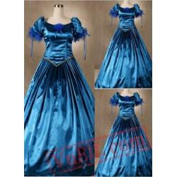 Blue Gothic Victorian Dress