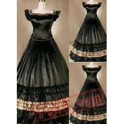 Fancy Black Victorian Dress