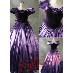 Patrician Purple Gothic Victorian Dress