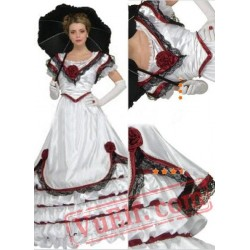 Luxuriant Lace Gothic Victorian Dress