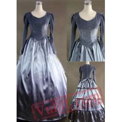 Nobiliary Grey Gothic Victorian Dress