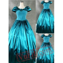 Noble Blue Gothic Victorian Dress