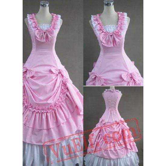 Sweet Pink Victorian Lolita Dress
