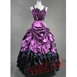 Sleeveless Multi Layer Victorian Dress