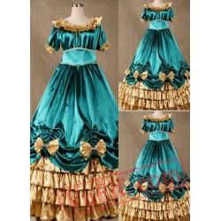 Super Gorgeous Blue Gothic Victorian Dress