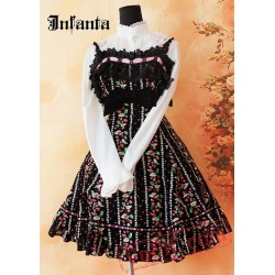 Black Sweet Bows Lace Lolita Jumper