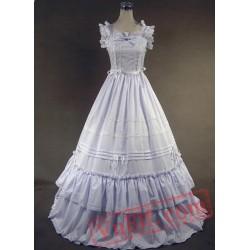 White Victorian Style Loita Dress