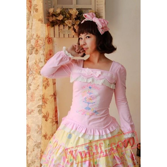 Infanta Candy Time Printed Lace Lolita Dress