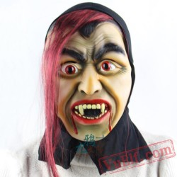 Anger Witch Halloween Masks