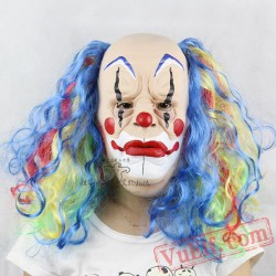 Bald Clown Halloween Masks