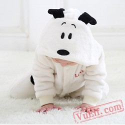 Baby Cartoon Snoopy Kigurumi Onesie Costume