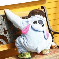 Baby Blue Star Kigurumi Onesie Costume