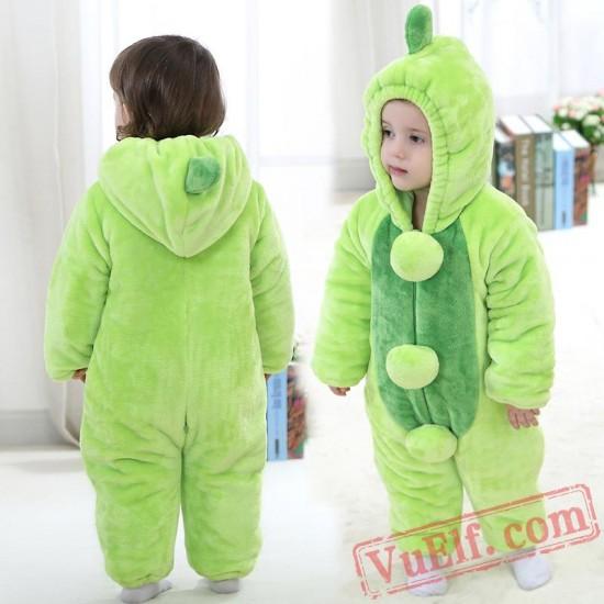 Baby Pea Kigurumi Onesie Costume