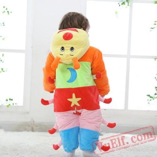 Baby Caterpillar Kigurumi Onesie Costume