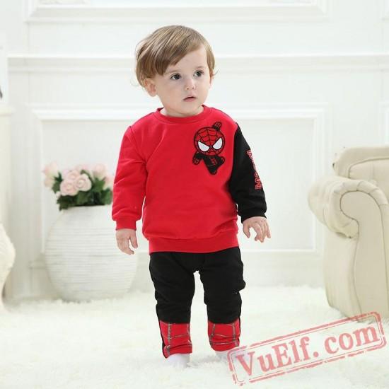 Baby Spiderman Kigurumi Onesie Costume