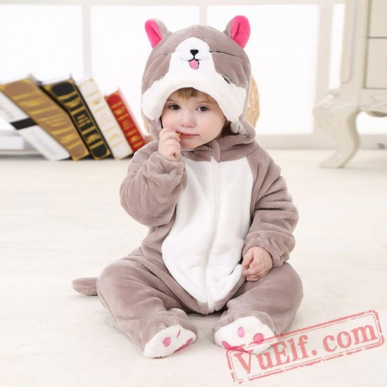 Baby Cute Cat Kigurumi Onesie Costume