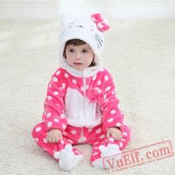 Baby Cute Little Kitten Kigurumi Onesie Costume