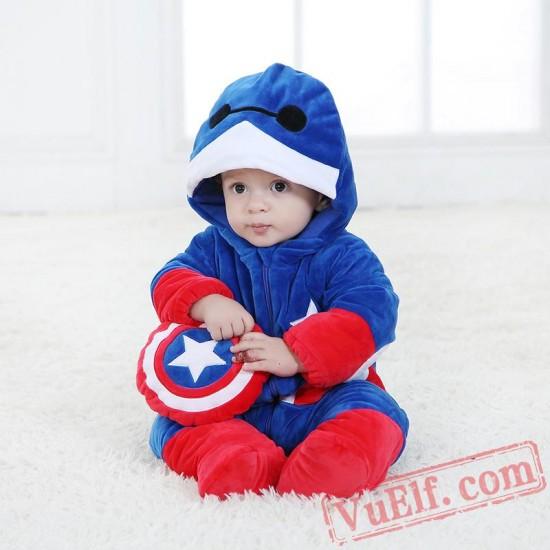 Baby Big Hero Baymax Kigurumi Onesie Costume