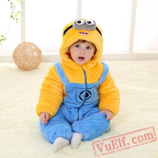 Baby Minions Kigurumi Onesie Costume