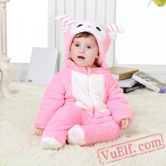 Baby Cute Sheep Kigurumi Onesie Costume