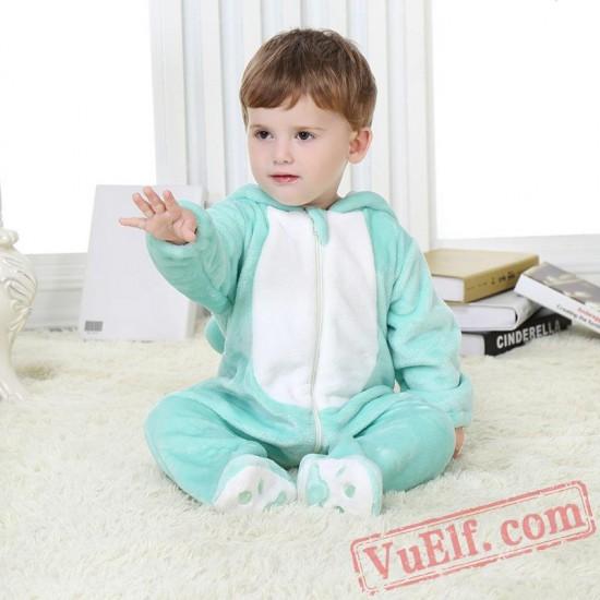 Baby Green Puppy Kigurumi Onesie Costume