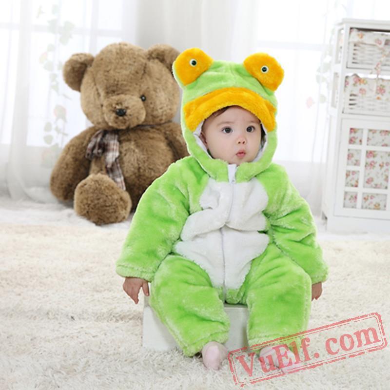 c832efb0ff72 Baby Frog Kigurumi Onesie Costumes for Sale