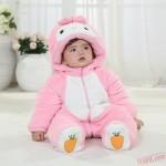 Baby Pink Rabbit Kigurumi Onesie Costume