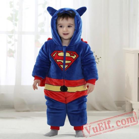 Baby Superman Kigurumi Onesie Costume
