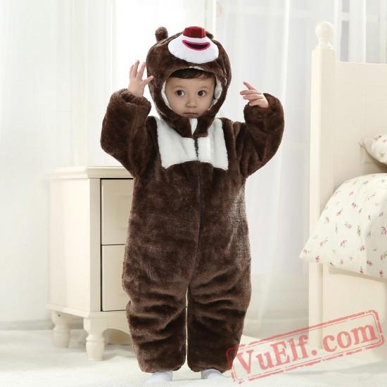 Baby Bear Kigurumi Onesie Costume
