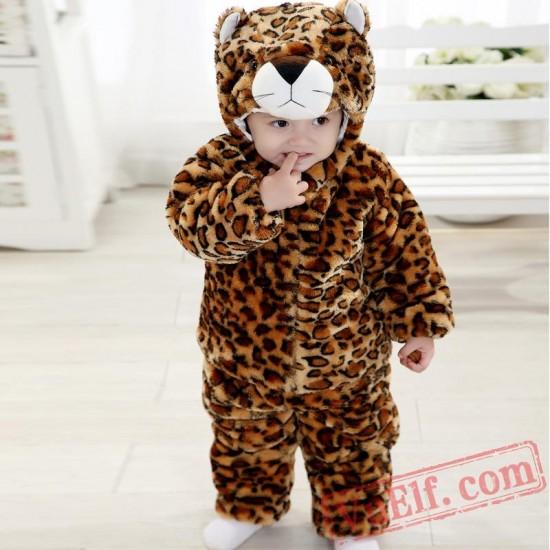 Baby Leopard Kigurumi Onesie Costume