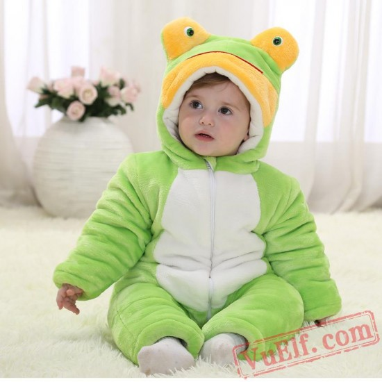 Baby Frog Kigurumi Onesie Costume