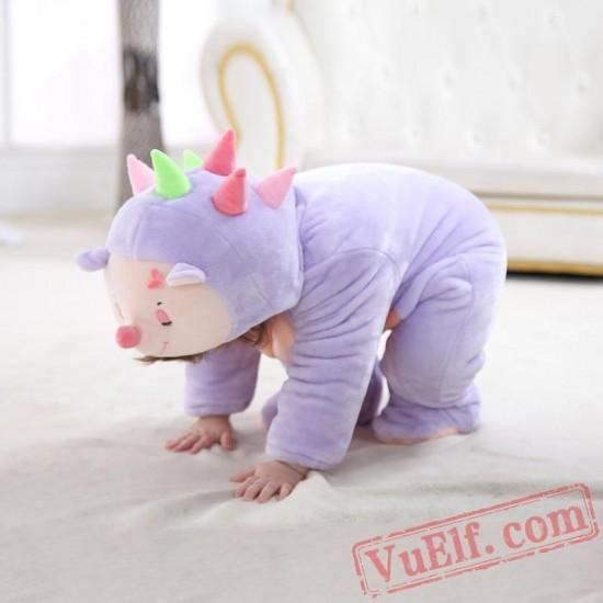 Baby Cute Hedgehog Kigurumi Onesie Costume