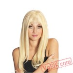 Long White Wigs for Women