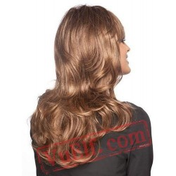 Long Brown Curly Wigs for Women