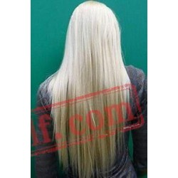 Straight Long White Wigs for Women