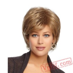 Short Blonde Wigs for Women