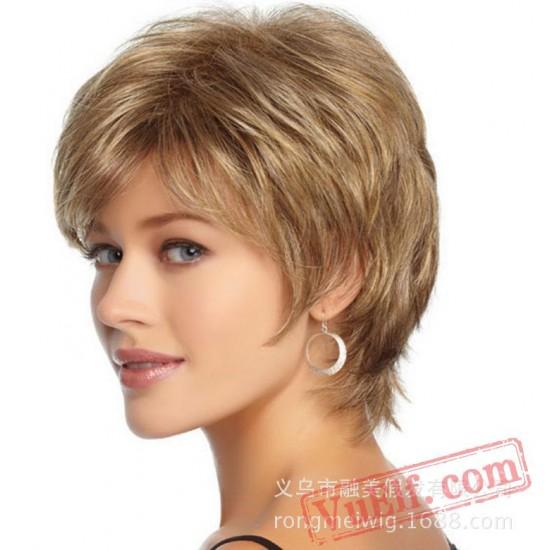 Short Blonde Wigs for Women