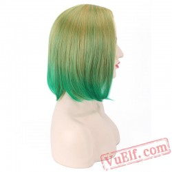 Short Colored Cosplay Wigs for Women