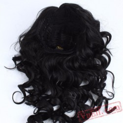 Black Long Curly Fashion Wigs for Women