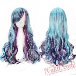Colored Long Lolita Wigs for Women