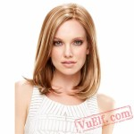 Mid-Length Curly Wigs for Women