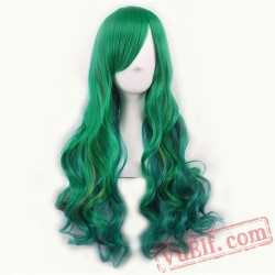 Green Cosplay Wigs for Women