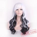 Black & White Lolita Wigs for Women