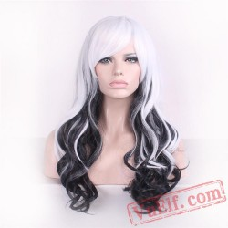 Black & White Lolita Wigs for Women
