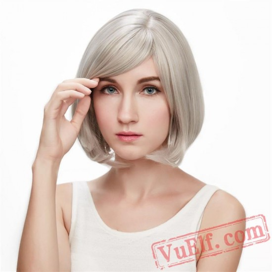 Gold Cosplay Wigs for Women