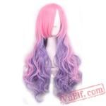 Purple Fshion Lolita Wigs for Women