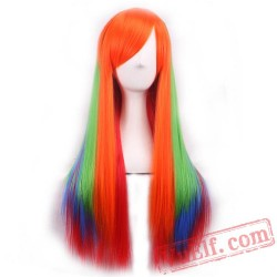 Colored Cosplay Wigs for Women