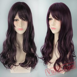 Colored Long Curly Lolita Wigs for Women